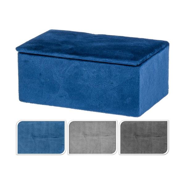 Κουτί βελούδινο 15 Χ 9 Χ 6 εκ.