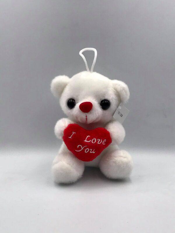 Λευκό αρκουδάκι 12 εκ.
