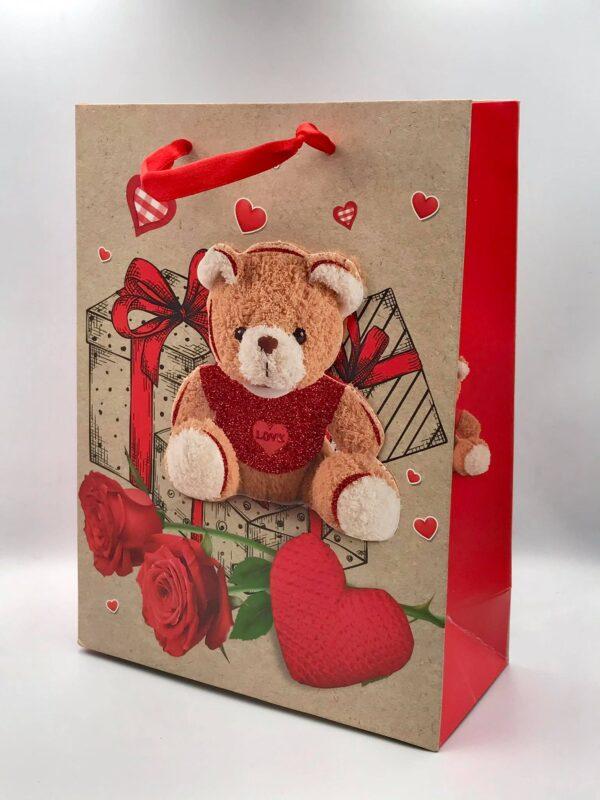 Τσάντα με ένα αρκούδι. Σετ των 12 τεμαχίων