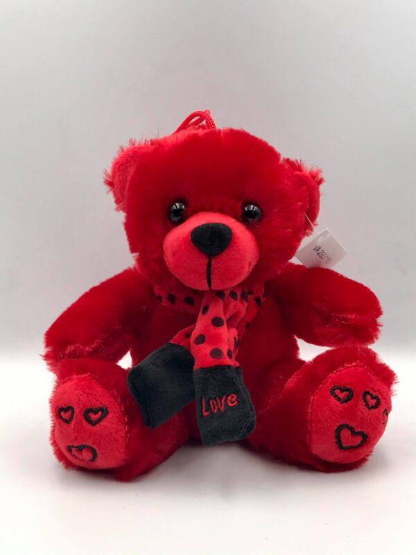 Κόκκινο αρκουδάκι 16 εκ.