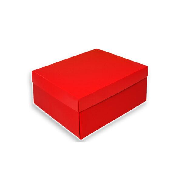 Κουτί κόκκινο 24 Χ 20 Χ 9,5 εκ.