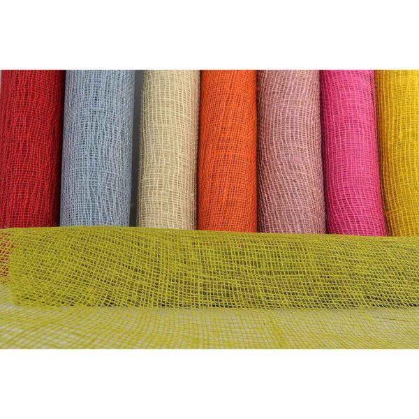 Τσουβάλι δίχτυ κολλαρισμένο 60 εκ. Χ 5 μέτρα