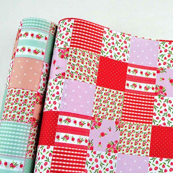 Ύφασμα τύπου patchwork