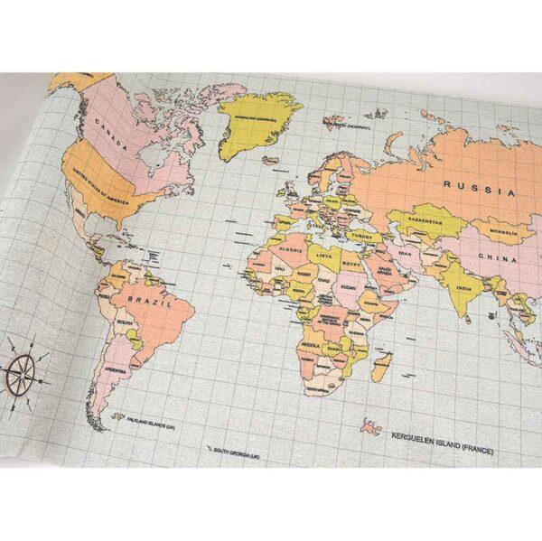 Ύφασμα Χάρτης 50 cm X 5 m