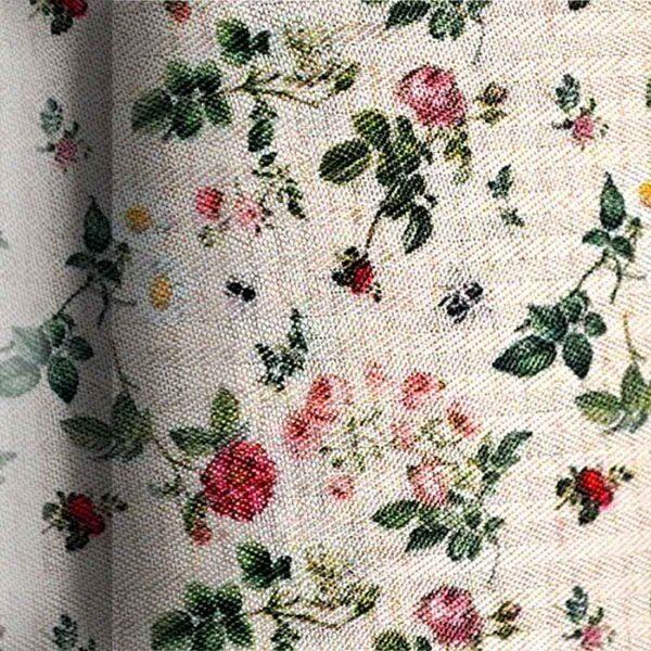 Ύφασμα με vintage λουλούδια