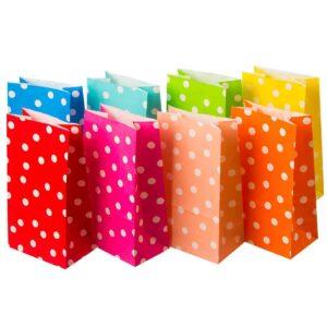 Φακελάκια χάρτινα πουά 24 Χ 12 Χ 8 εκ. Σετ των 50 τεμαχίων