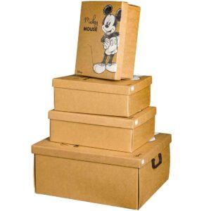 """Κουτί κραφτ """"Mickey Mouse"""""""