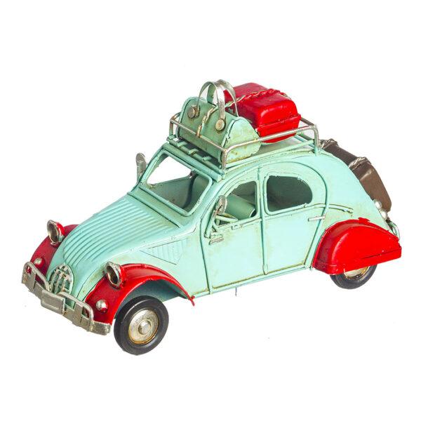 Βεραμάν-κόκκινο vintage αυτοκινητάκι 16 Χ 6 εκ.