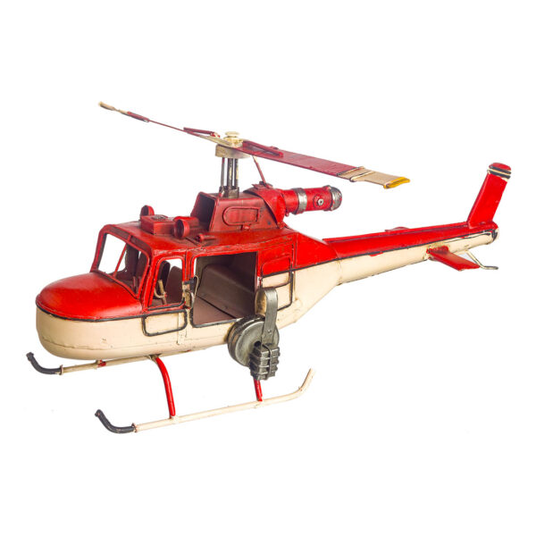 Ελικόπτερο κόκκινο-μπεζ 32 Χ 15 εκ.