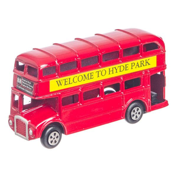 Ξύστρα λονδρέζικο λεωφορείο