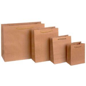 Τσάντα κράφτ με κορδόνι. Σετ των 25 τεμαχίων
