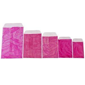Φακελάκια χάρτινα σε διάφορα μεγέθη και χρώματα. Σετ των 100 τεμαχίων