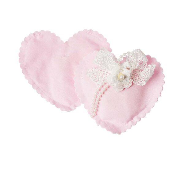 Καρδιά ροζ 12 εκ.