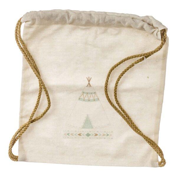 Τσάντα υφασμάτινη με σκηνή 30 Χ 30 εκ.
