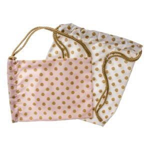 Υφασμάτινη τσάντα πουά
