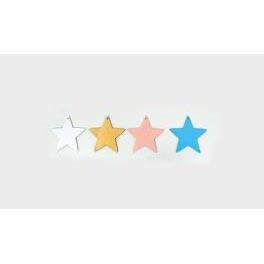 Αστέρι 2,5 εκ. -Σετ 10 τεμάχια