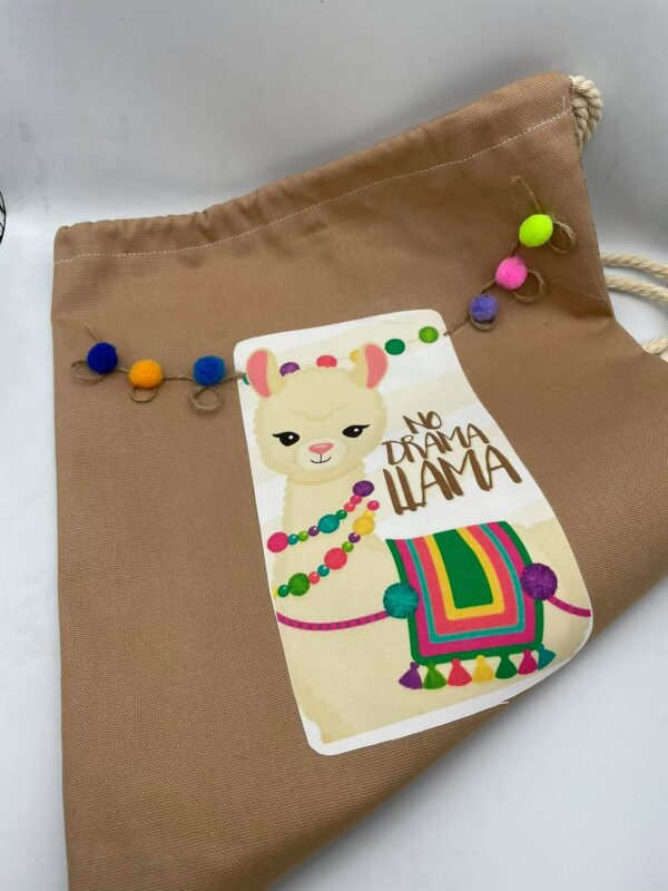 Υφασμάτινη τσάντα No drama lama