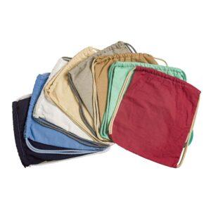Σακίδιο σε διάφορα χρώματα 26 Χ 32 εκ.