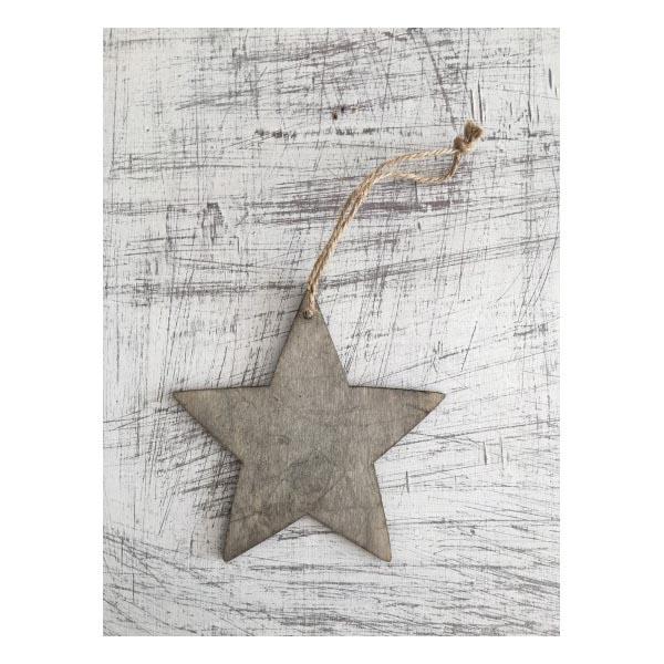 Γκρί αστέρι 12 εκ.