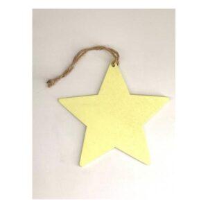 Κίτρινο αστέρι 12 εκ.