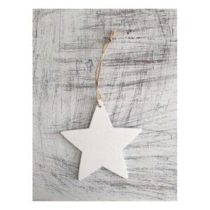 Λευκό αστέρι 12 εκ.