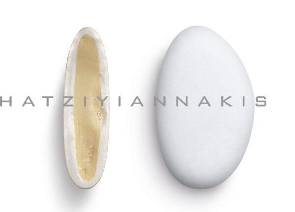 Κουφέτα bijoux λευκό γεύση καρύδα. 1 κιλό
