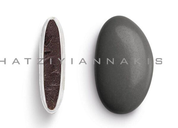 Κουφέτα bijoux supreme ανθρακί γυαλισμένο. 1 κιλό