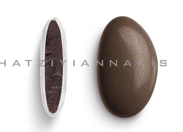 Κουφέτα bijoux supreme καφέ σοκολατί γυαλισμένο. 1 κιλό