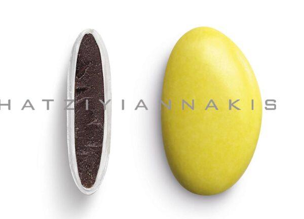 Κουφέτα bijoux supreme κίτρινο γυαλισμένο. 1 κιλό