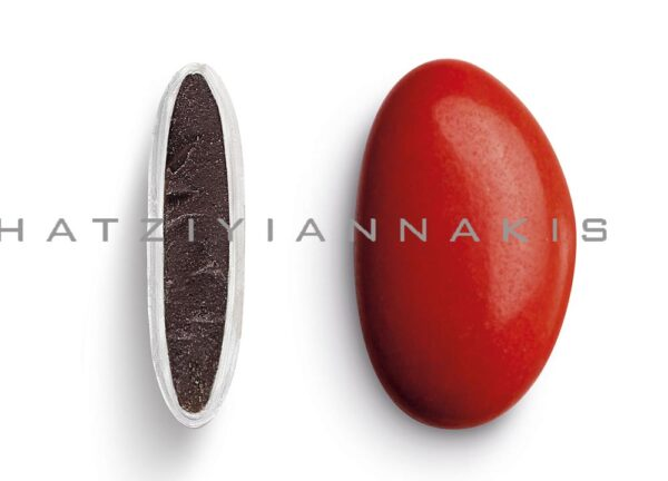 Κουφέτα bijoux supreme κόκκινο γυαλισμένο. 1 κιλό
