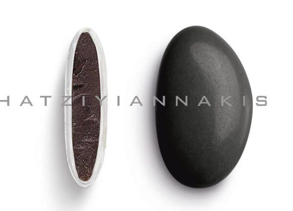 Κουφέτα bijoux supreme μαύρο γυαλισμένο. 1 κιλό