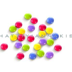 Κουφέτα mini rondo bebe πολύχρωμα. 1 κιλό